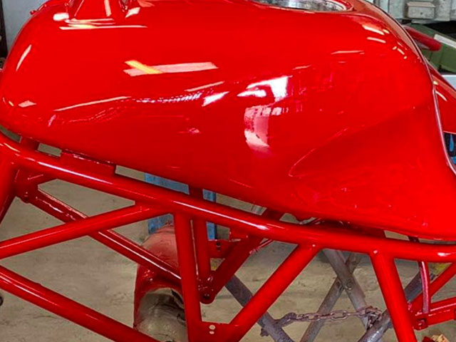 Paint workshop - from full repaints to chip and dent repairs.